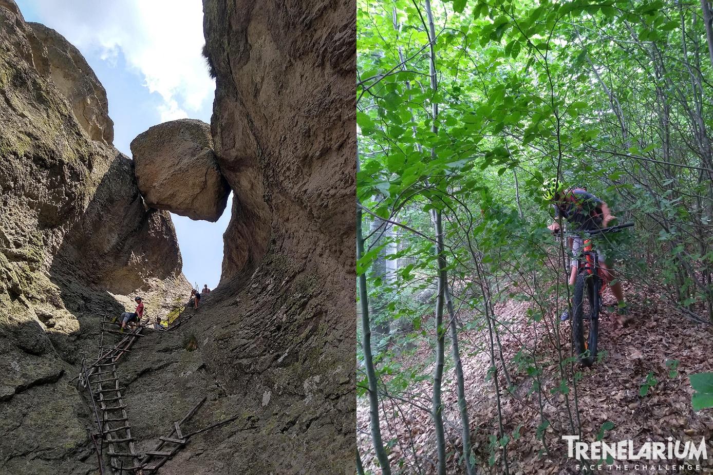 25 Изкачването към Караджов камък и обраслото спускане